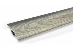 Плинтус пластиковый Ideal Комфорт K55 Дуб Пепельный