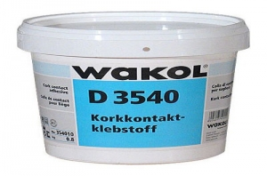 Клей для пробки и других покрытий Wakol D 3540 0,8 кг