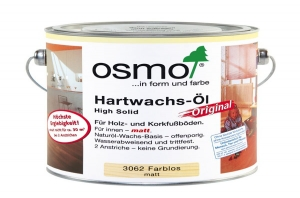 Масло Osmo Hartwachs-Ol matt 3062