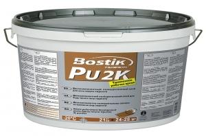 Клей для паркета Bostik PU 2K двухкомпонентный